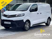 Toyota ProAce Diesel 120ps Icon Premium Medium With NO VAT, Sat Nav, Air Con & Alloys 1.5 6dr Panel Van Manual Diesel