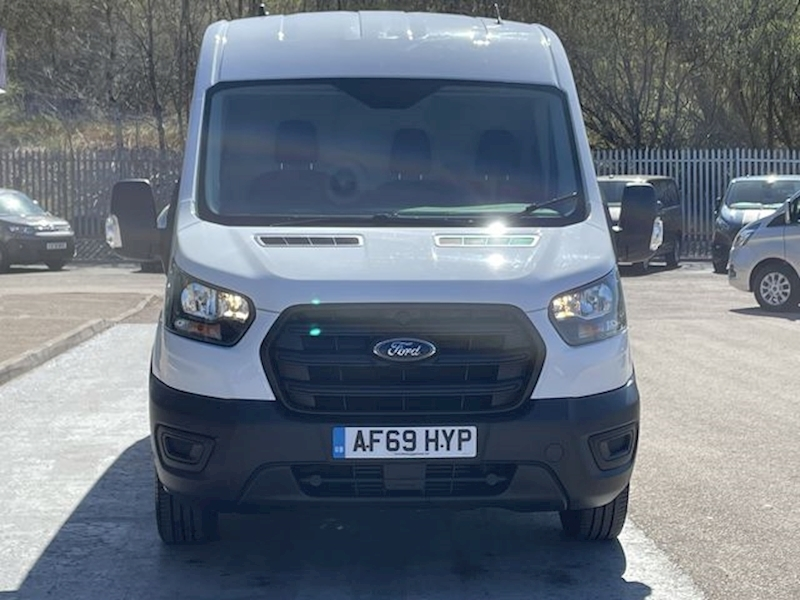 Ford Transit MHEV Hybrid Diesel LWB Medium Roof L3 H2 6 Speed With Electric Windows & 9k Miles 2.0 5dr Panel Van Manual Diesel