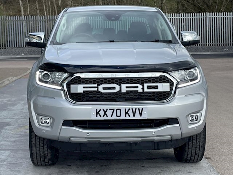 Ford Ranger TDCI 170ps EcoBlue Limited 4x4 dcb Pickup with RollnLock, Rev Cam & Wildtrak Features 2.0 4dr Pickup Automatic Diesel