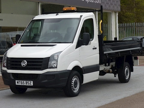 Volkswagen Crafter Tdi 110ps CR35 Mwb Tipper With only 4,000 miles