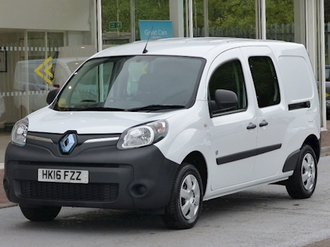 Renault Kangoo Maxi Dci 60ps LL21 Electric Powered Lwb ZE Business 5 Seat Kombi/Crew Van