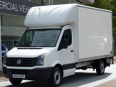 Volkswagen Crafter Tdi 110ps CR35 Lwb Luton with Tail Lift