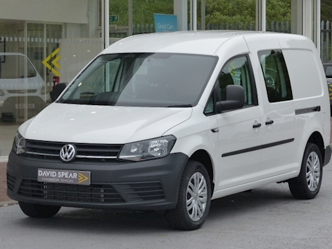 Volkswagen Caddy Maxi Tdi 102ps C20 Lwb 5 Seat Crew/Kombi Van With Air Con