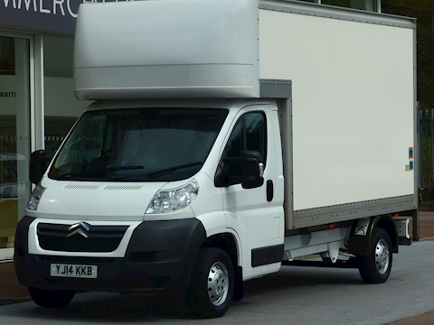 Citroen Relay Hdi 130ps 35 L3 Luton Van With Tail Lift
