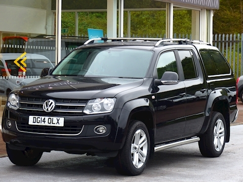 Volkswagen Amarok 180ps Highline 4Motion Double Cab 4x4 Pick Up