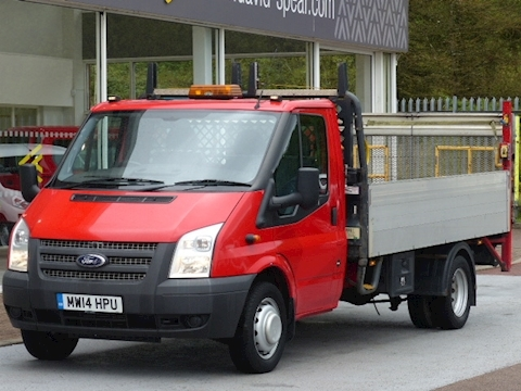 Ford Transit Tdci 125ps 350 Lwb Dropside Pick Up With Tail Lift