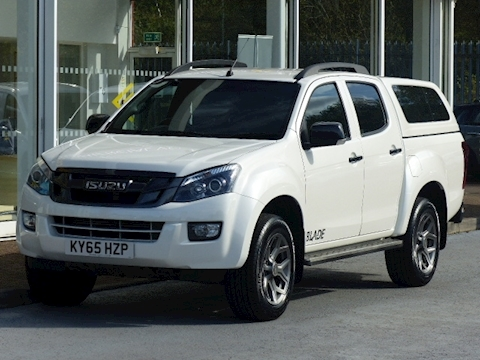 Isuzu D-Max Td 165ps Blade 4x4 Double Cab Pick Up With Canopy