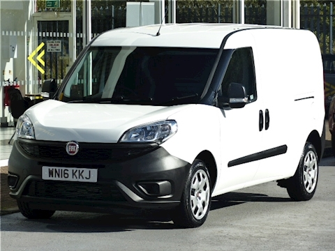 Fiat Doblo Cargo 16V 90ps Multijet Maxi L2 Lwb With Twin Side Doors