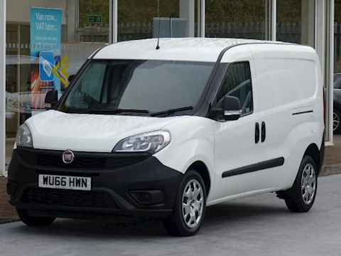 Fiat Doblo Cargo 16V 90ps Multijet Maxi Lwb With Twin Side Doors
