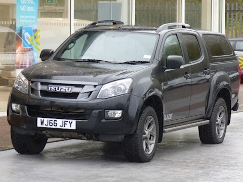 Isuzu D-Max Td 165ps Blade Double Cab 4x4 Pick Up With Canopy