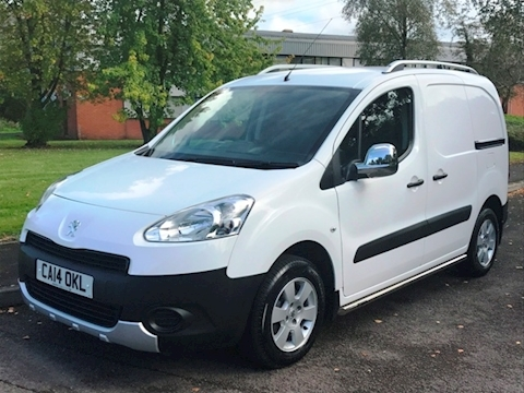 Peugeot Partner Hdi 90ps Professional L1 850  With No Vat