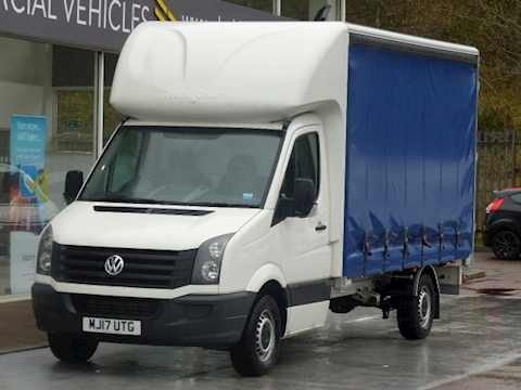Volkswagen Crafter Tdi 110ps CR35 Lwb Curtain-Sider