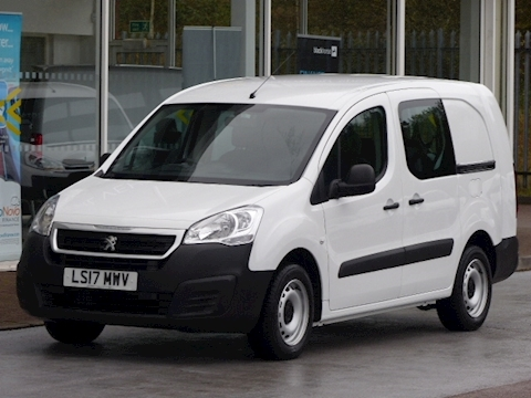 Peugeot Partner Hdi 100ps Blue Crew Cab Van
