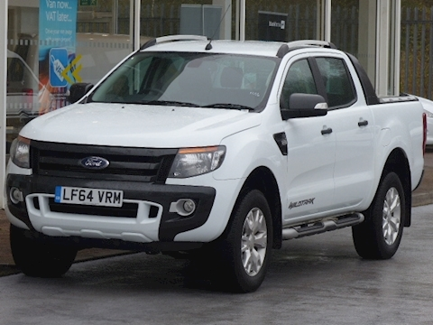 Ford Ranger Tdci 200ps Wildtrak 4X4 Double Cab Pick Up with Roll n Lock