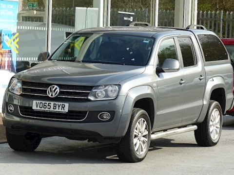 Volkswagen Amarok 180ps Highline 4Motion 4x4 Double Cab Pick Up With Canopy