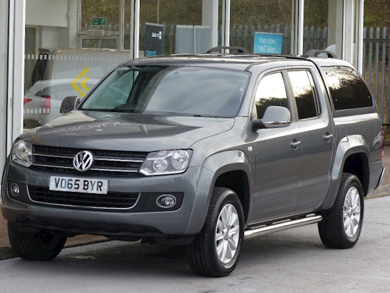 Amarok 180ps Highline 4Motion 4x4 Double Cab Pick Up With Canopy 2.0 5dr Pickup Automatic Diesel