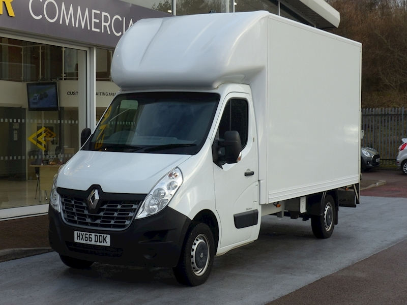 Master Dci 125ps Ll35 Business Lwb Luton With Tail Lift & NO VAT 2.3 2dr Luton Manual Diesel