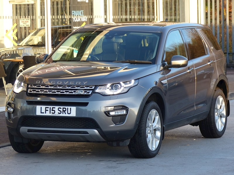 Discovery Sport Sd4 190ps HSE With Leather Nav 7 Seats 2.2 5dr Estate Automatic Diesel