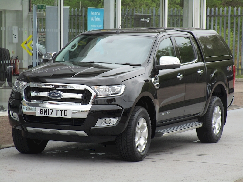 Ranger Tdci 200ps Limited 4X4 Double Cab Pick up with Canopy and Full leather 3.2 5dr Pickup Manual Diesel