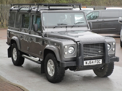 Defender 110 Td 125ps Xs Utility Wagon With No VAT & Loads of Extras 2.2 5dr SUV Manual Diesel