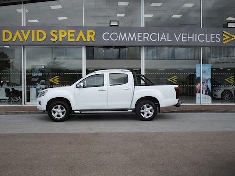 D-Max Td 165ps Utah Vision 4x4 Double Cab Pick Up with Mountain Top Roller Cover 2.5 5dr Pickup Automatic Diesel