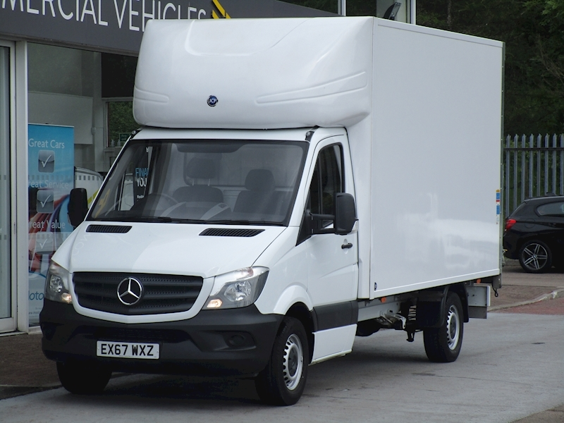 Sprinter Cdi 140ps 314 Lwb Luton with Tail Lift & Only 3K As New 2.1 2dr Luton Manual Diesel