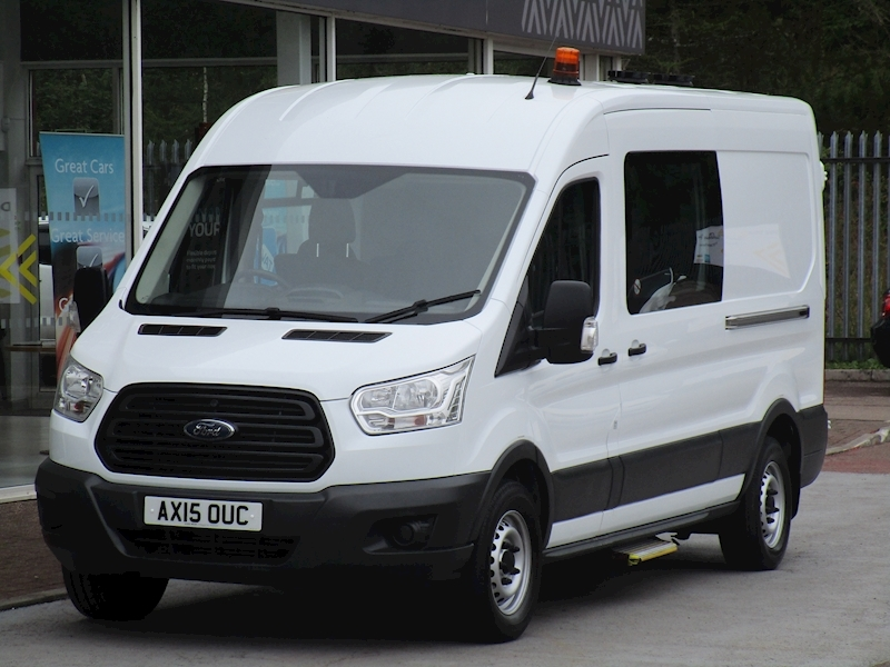 Transit Tdci 125ps 350 Lwb Mess/ Utility/ Welfare 7 Seat Crew Van with Toilet 2.2 5dr Combi Van Manual Diesel