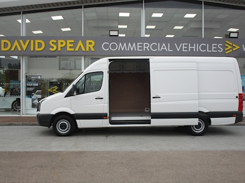 Crafter Tdi 110ps CR35 L4 Lwb Jumbo Van with Air Con 2.0 5dr Panel Van Manual Diesel