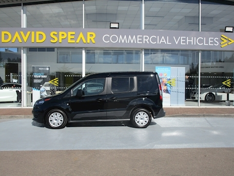 Tourneo Connect Tdci 100ps Zetec Swb L1 Crew Cab 5 Seats With Air Con & Tailgate Rear Door & NO VAT 1.5 5dr MPV Manual Diesel