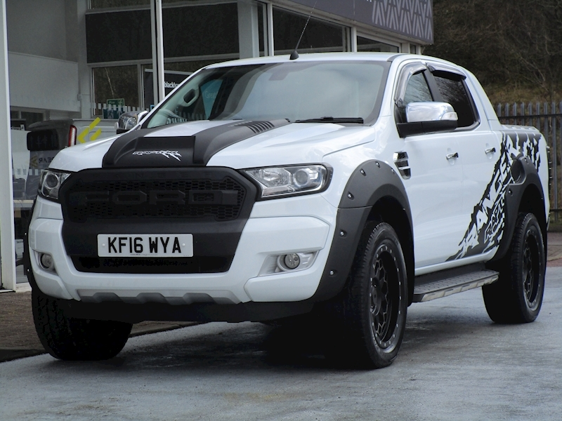 Ranger Tdci 200ps Full Raptor Styling Limited 4X4 Double Cab Pick Up with Rev Cam 3.2 5dr Pickup Manual Diesel