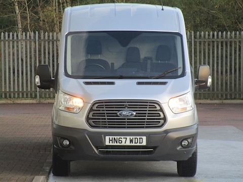 Transit Tdci 130ps 350 L3H2 Trend Lwb  Med Roof with Air Con & Alloy Wheels 2.0 5dr Panel Van Manual Diesel