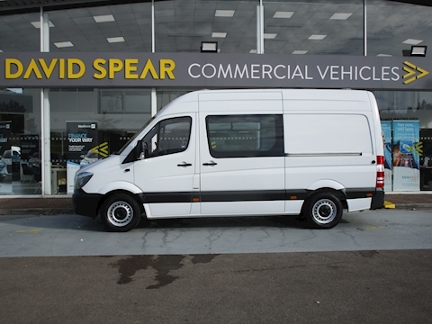 Sprinter Cdi 140ps 314 Mwb Mess/Welfare Vehicle with 7 Seats & Toilet As New 2.1 5dr Specialist Vehicle Manual Diesel