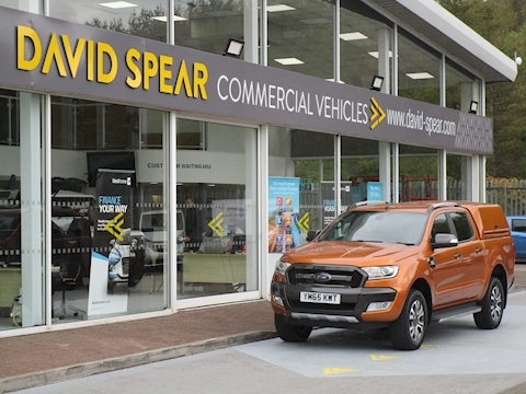 Ranger Tdci 200ps Wildtrak 4X4 Double Cab Pick Up with Canopy 3.2 5dr Pick Up Automatic Diesel
