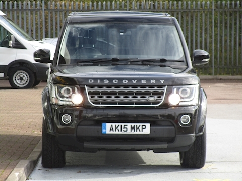 Discovery SDV6 Commercial XS With Leather & Sat Nav 3.0 5dr Light 4X4 Utility Automatic Diesel