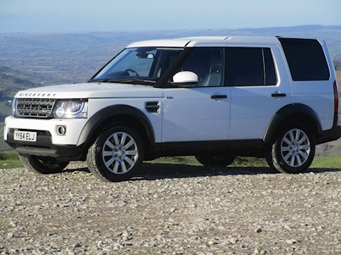 Discovery 4 SDV6 255ps Commercial Xs Automatic With Sat Nav & Leather Seats 3.0 5dr Light 4X4 Utility Automatic Diesel