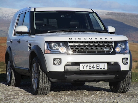 Discovery 4 SDV6 255ps  Automatic 5 Seater with Sat Nav (Rear Seat Conversion) 3.0 5dr SUV Automatic Diesel