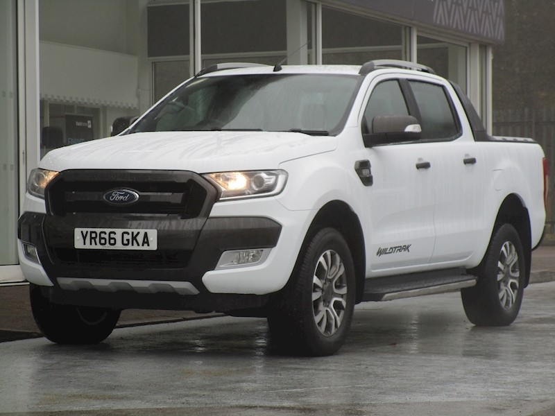 Ranger Tdci 200ps Wildtrak Automatic 4X4 Double Cab Pick Up with Sat Nav & Rev Cam 3.2 5dr Pickup Automatic Diesel