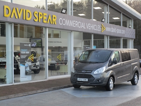 Transit Custom Dci 170ps 310 Limited L2H1 Auto 6 Seat Crew Van with Air Con, Sat Nav & Tailgate 2.0 5dr Combi Van Automatic Diesel