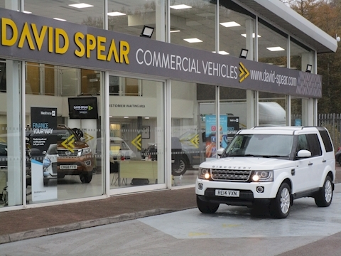 Discovery SDV6 255ps XS Automatic Commercial 5 Door With Leather & Sat Nav 3.0 5dr Light 4X4 Utility Automatic Diesel