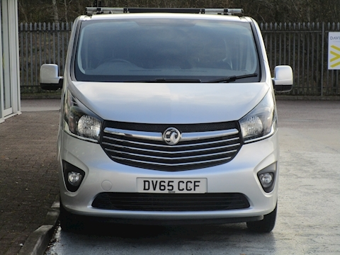 Vivaro Cdti 120ps 2900 Sportive 6 Seat Lwb L2 Crew Van with Air Con & Roof Rack 1.6 5dr Combi Van Manual Diesel