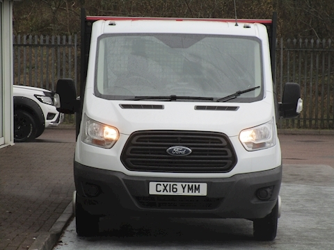 Transit Tdci 125ps 350 Single Cab Tipper with Twin Rear Wheels & Only 18k! 2.2 2dr Tipper Manual Diesel