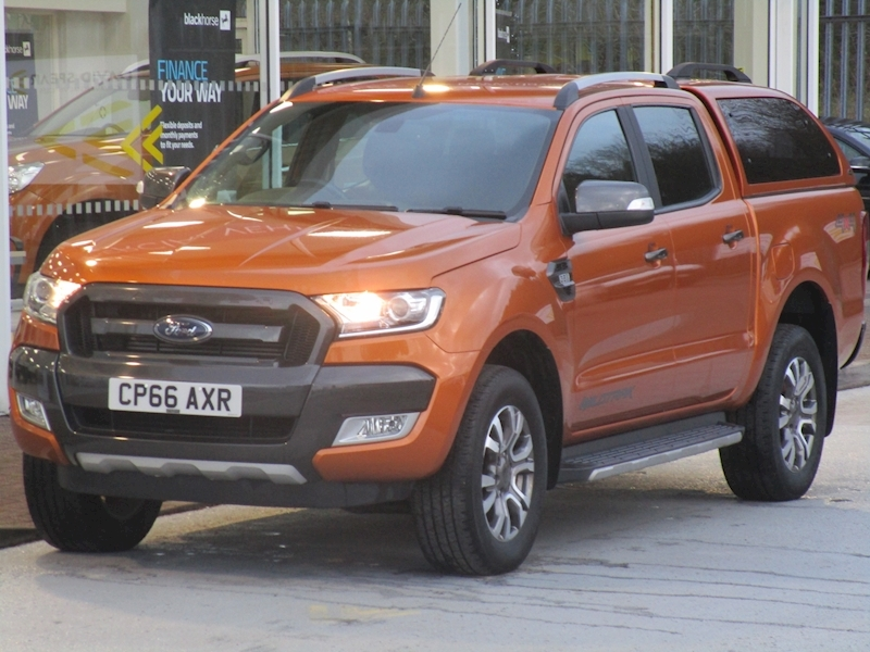 Ranger Tdci 200ps Wildtrak 4X4 Double Cab Pick Up With Canopy 3.2 4dr Pickup Manual Diesel