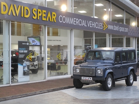 Defender 110 120ps Xs Station Wagon with NO VAT, Air Con & Heated Leather Seats 2.4 5dr SUV Manual Diesel
