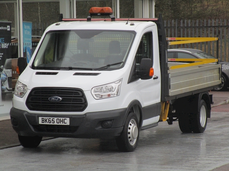 Transit Tdci 125ps 350 Single Cab 12ft Mwb Dropside with Twin Rear Wheels 2.2 2dr Dropside Manual Diesel