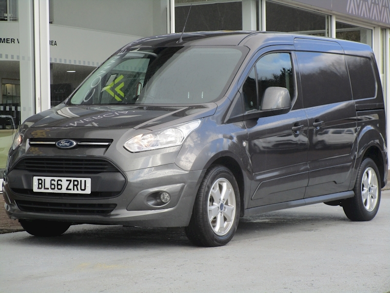 Transit Connect Tdci 120ps 240 Lwb L2 Limited with Air Con & Alloy Wheels 1.5 5dr Panel Van Manual Diesel