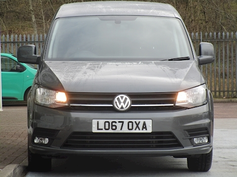 Caddy Tdi 102ps C20 Highline Auto DSG with Alloys  Air Con, Sat Nav & NO VAT 2.0 5dr Panel Van Semi Auto Diesel