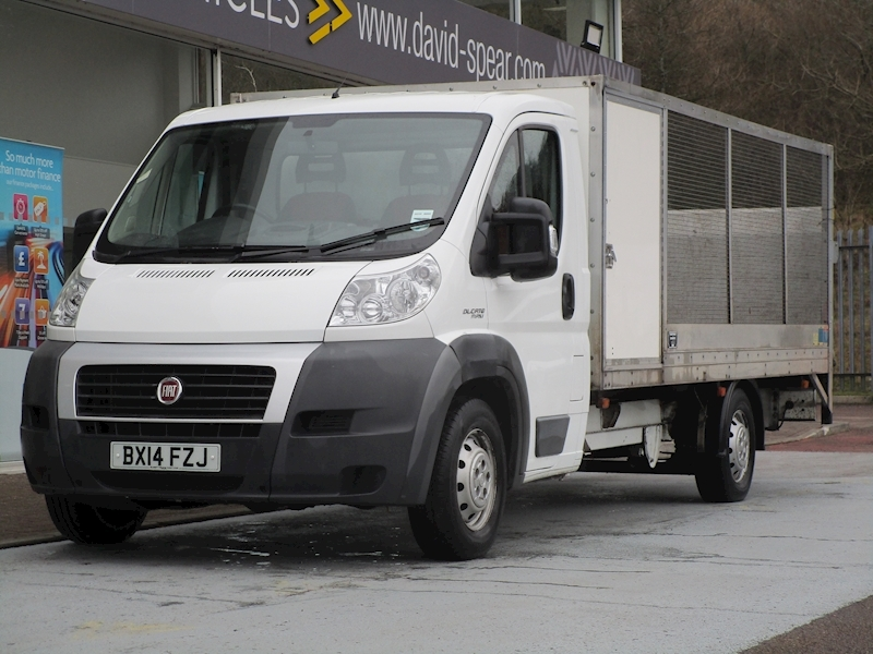 Ducato 130ps Multijet 35 Maxi Lwb 12.5ft Dropside With Tail Lift & Secure Storage Area 2.3 2dr Dropside Manual Diesel