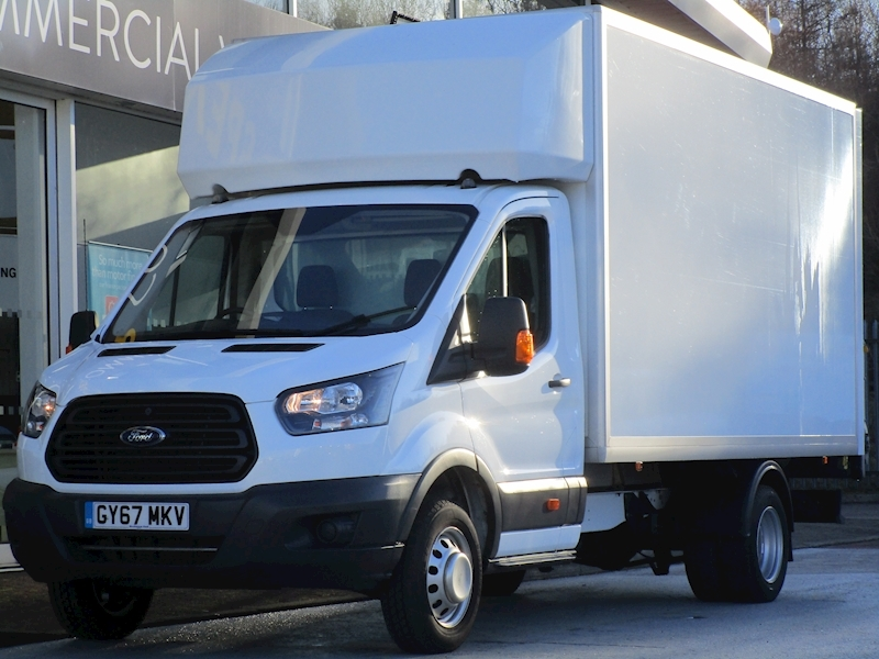 Transit Tdci 170ps 350 EF Lwb Luton With Twin Wheels, Tail Lift & Only 7k 2.0 2dr Luton Manual Diesel