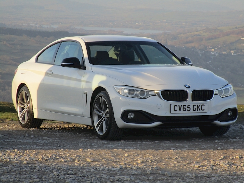 4 Series 420D Sport with Full Leather, Sat Nav & Only 8K 2.0 2dr Coupe Manual Diesel