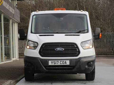 Transit Tdci 130ps 350 Lwb Double Cab Tipper with Rear Storage Area & Rev Cam 2.0 2dr Tipper Manual Diesel